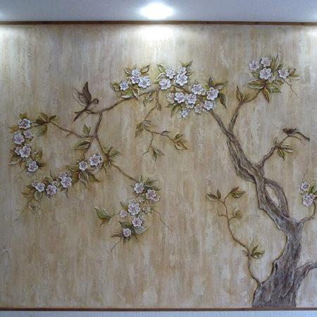 Декоративное панно Сакура