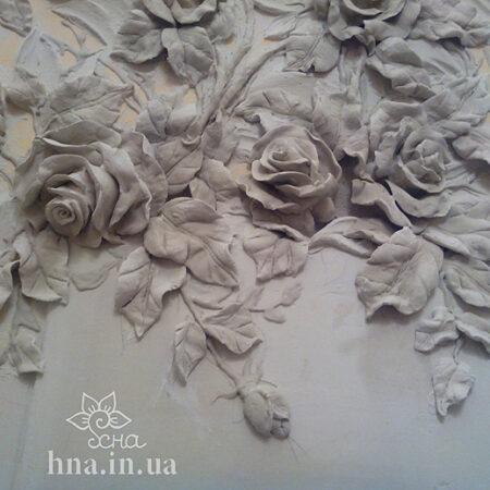 Лепнина Розы