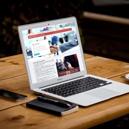 Веб-сайт для Red Line Alliance