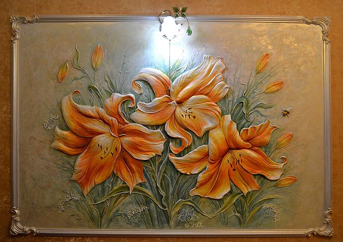 Лилия из гипса своими руками - Pressmsk.ru