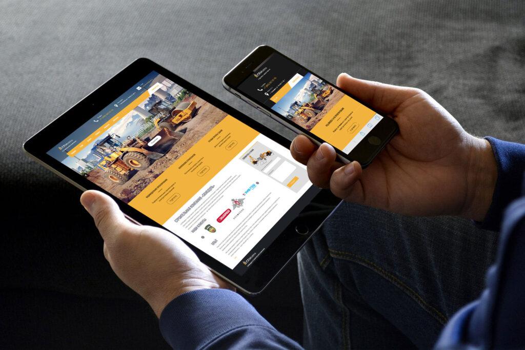 Сайт для строительной компании «СКМодуль»